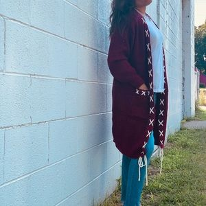 Adorable Fall Chunky Knit Cardigan